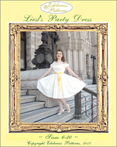 liesl's dress, sound of music costume, liesl's party dress, sound of music dress