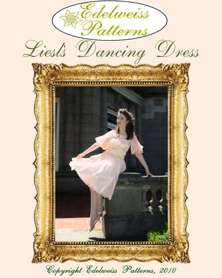 liesl's dancing dress pattern, sound of music pattern, sound of music costume, liesls dress